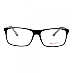 Full Rim Polycarbonate Rectangle Blue Large Vision Express 28971 Eyeglasses