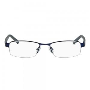 Half Rim Metal Wrap Blue Medium Vision Express 28729 Eyeglasses