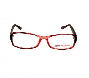 Full Rim Polycarbonate Rectangle Gold Medium Vision Express 12005 Eyeglasses