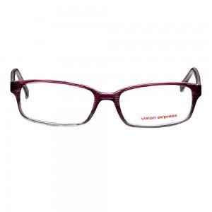 Full Rim Polycarbonate Oval Purple Medium Vision Express 29167 Eyeglasses