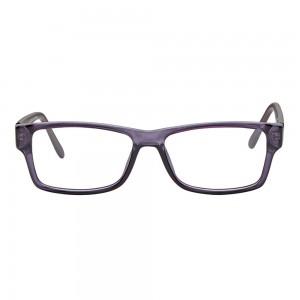 Full Rim Polycarbonate Rectangle Blue Medium Vision Express 29269 Eyeglasses