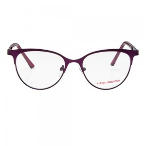 Full Rim Metal Cat Eye Purple Medium Vision Express 48983 Eyeglasses