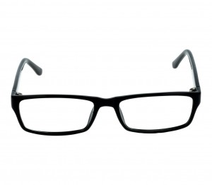 Full Rim Acetate Rectangle Black Large Seen SNM22 Eyeglasses
