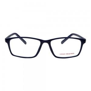 Full Rim Polycarbonate Rectangle Blue Medium Vision Express 28976 Eyeglasses
