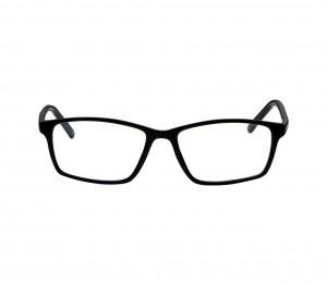 Full Rim Polycarbonate Rectangle Black Medium Vision Express 29330 Eyeglasses