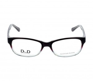 Full Rim Acetate Rectangle Violet Medium DbyD DYF39 Eyeglasses