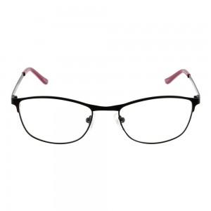 Full Rim Metal Oval Black Small The One TOCF06 Eyeglasses