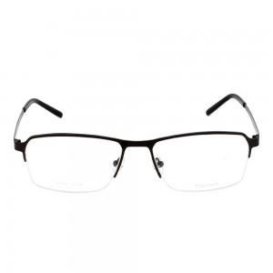 Full Rim Titanium Rectangle Grey Large Julius JUCM16 Eyeglasses