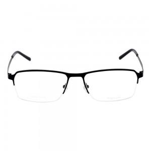 Full Rim Titanium Rectangle Blue Large Julius JUCM16 Eyeglasses