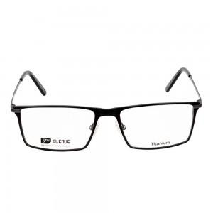 Full Rim Titanium Rectangle Black Medium 5th Avenue FABM03 Eyeglasses