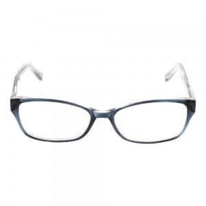 Full Rim Acetate Rectangle Blue Small Seen SNBF06 Eyeglasses