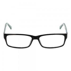 Full Rim Acetate Rectangle Black Large Seen SNBM08 Eyeglasses