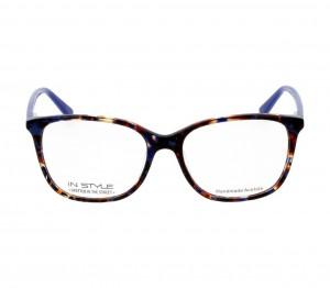 Full Rim Acetate Square Blue Medium In Style TORF01 Eyeglasses