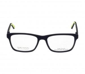 Full Rim Acetate Rectangle Blue Medium Miki Ninn MNAM50 Eyeglasses