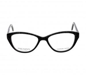 Full Rim Acetate Cat Eye Black Medium 5th Avenue FAAF53 Eyeglasses