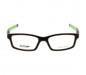 Full Rim Polycarbonate Rectangle Brown Medium Activ ACBM08 Eyeglasses