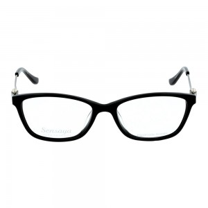 Full Rim Acetate Rectangle Black Small Sensaya SYCF18 Eyeglasses