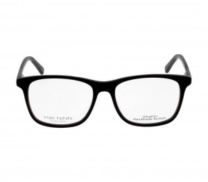 Full Rim Acetate Square Black Medium Miki Ninn MNAME3 Eyeglasses