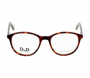 Full Rim Acetate Round Havana Medium DbyD DYH41 Eyeglasses