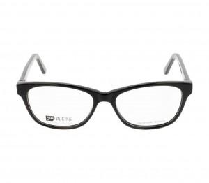 Full Rim Acetate Almond Black Medium 5th Avenue FABF33 Eyeglasses