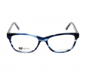 Full Rim Acetate Almond Blue Medium 5th Avenue FABF33 Eyeglasses
