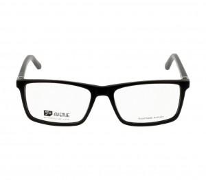 Full Rim Acetate Rectangle Black Large 5th Avenue FADM22 Eyeglasses