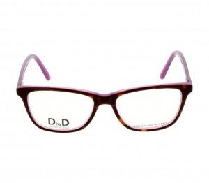 Full Rim Acetate Rectangle Havana Medium DbyD DBCF21 Eyeglasses
