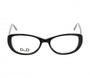 Full Rim Acetate Almond Black Medium DbyD DBCF17 Eyeglasses