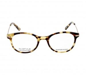 Full Rim Acetate Round Havana Medium In Style ISBF11 Eyeglasses