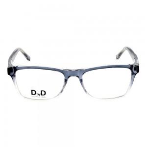 Full Rim Propionate Rectangle Blue Medium DbyD DBAM11 Eyeglasses