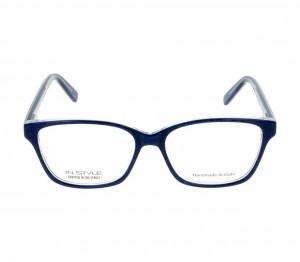 Full Rim Acetate Rectangle Blue Medium In Style ISAF19 Eyeglasses