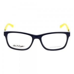 Full Rim Acetate Rectangle Blue Small Activ ACDM04 Eyeglasses