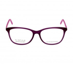 Full Rim Acetate Almond Purple Medium In Style ISCF05 Eyeglasses