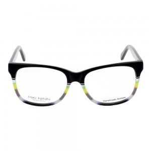 Full Rim Acetate Almond Black Medium Miki Ninn MNBM27 Eyeglasses