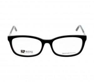 Full Rim Acetate Rectangle Black Medium 5th Avenue FACF04 Eyeglasses