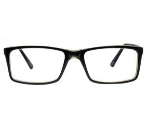 Full Rim Acetate Rectangle Black Medium Vision Express 29425 Eyeglasses