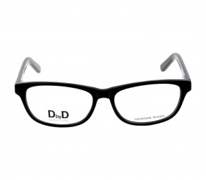 Full Rim Acetate Almond Black Medium DbyD DYF01 Eyeglasses
