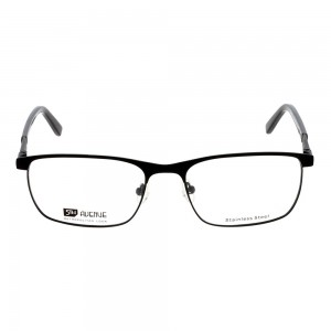 Full Rim Metal Rectangle Black Large 5th Avenue FAAMI2 Eyeglasses