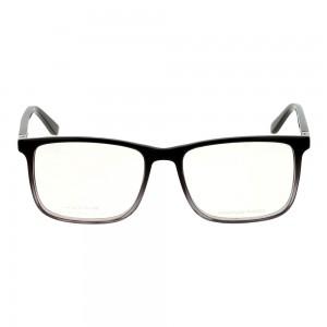 Full Rim Acetate Rectangle Black Large Julius JUCM19 Eyeglasses