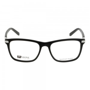 Full Rim Acetate Rectangle Black Small 5th Avenue FADM44 Eyeglasses