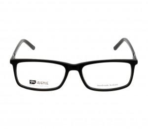 Full Rim Acetate Rectangle Black Large 5th Avenue FAEM01 Eyeglasses