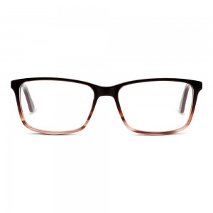 Full Rim Acetate Rectangle Red Medium 5th Avenue FAEF02 Eyeglasses