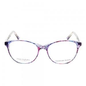 Full Rim Acetate Round Violet Medium Miki Ninn MNEF14 Eyeglasses
