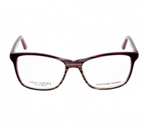 Full Rim Acetate Square Brown Medium Miki Ninn MNEF16 Eyeglasses
