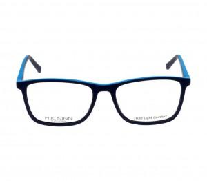 Full Rim TR90 Rectangle Blue Large Miki Ninn MNEM12 Eyeglasses