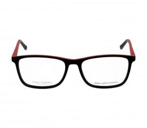 Full Rim TR90 Rectangle Black Large Miki Ninn MNEM12 Eyeglasses