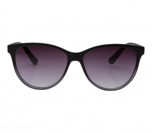 Cat eye Grey Solid Polycarbonate Full Rim Small Vision Express 41265 Sunglasses