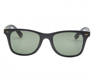 Wayfarer Polarised Lens Green Full Rim Medium Vision Express 72023P Sunglasses