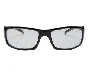 Rectangle Clear Polycarbonate Full Rim Large Vision Express 81106 Sunglasses