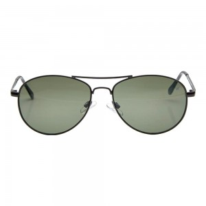 Aviator Green Metal Full Rim Medium Vision Express 12026 Sunglasses